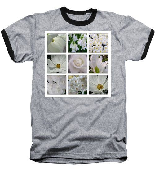 Through The White Picture Window Baseball T-Shirt