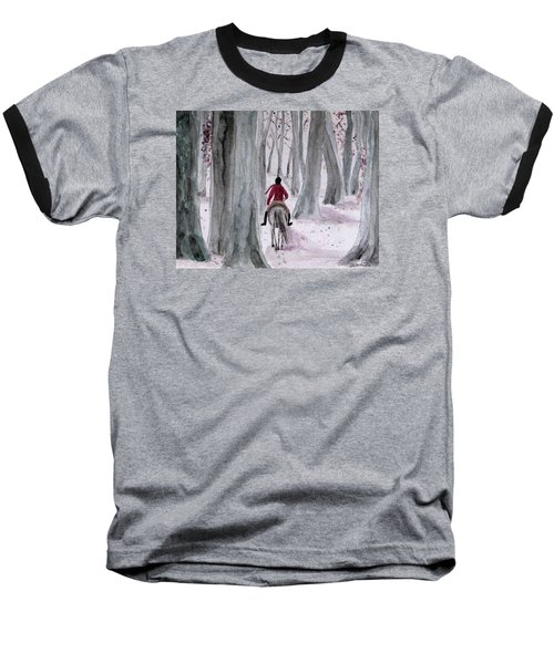 Through The Woods Baseball T-Shirt