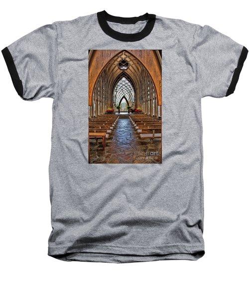 Through These Doors Baseball T-Shirt by Elizabeth Winter