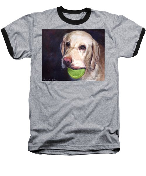 Throw The Ball Baseball T-Shirt