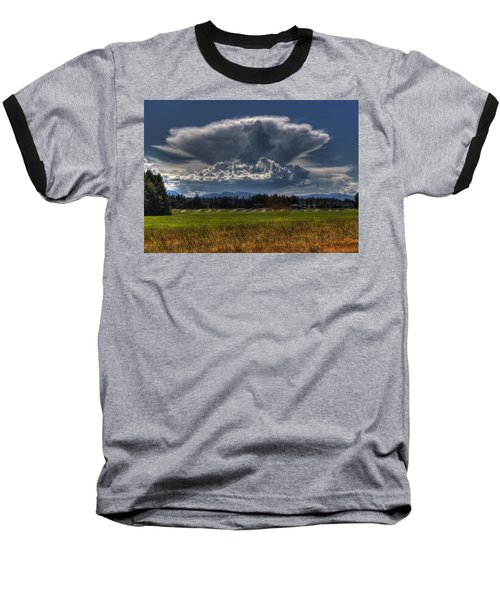Thunder Storm Baseball T-Shirt