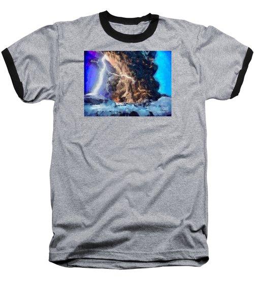 Thunder Struck Baseball T-Shirt