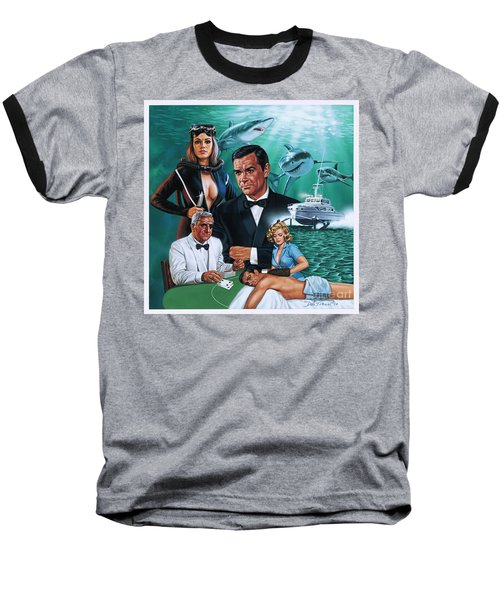 Thunderball Baseball T-Shirt