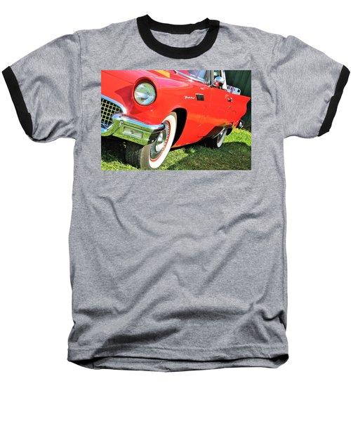 Thunderbird In Red Baseball T-Shirt