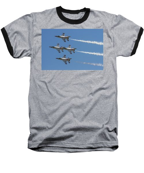 Thunderbirds II Baseball T-Shirt