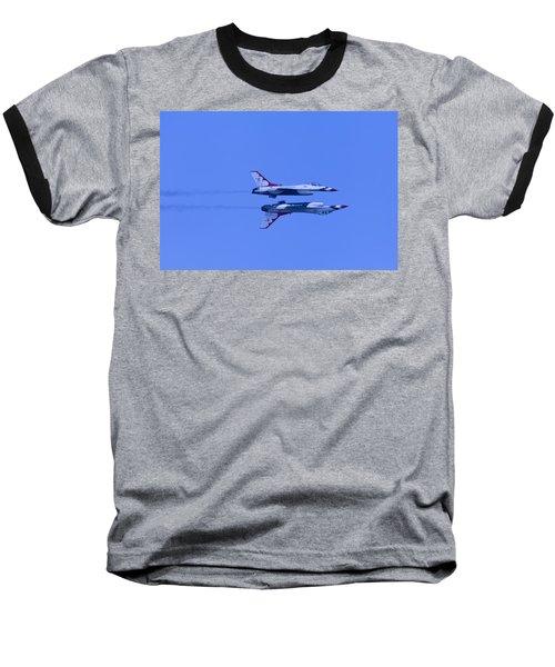 Thunderbirds Solos 6 Over 5 Inverted Baseball T-Shirt