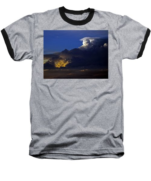 Baseball T-Shirt featuring the photograph Thunderstorm II by Greg Reed