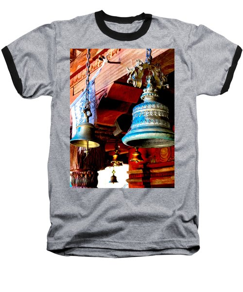 Tibetan Bells Baseball T-Shirt
