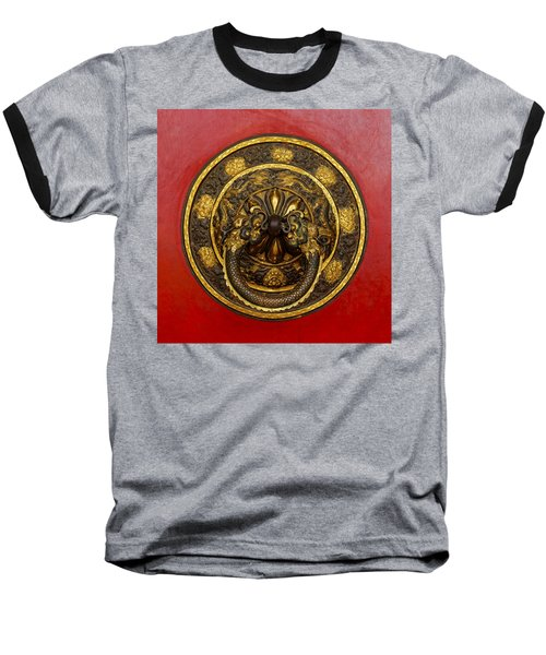 Tibetan Door Knocker Baseball T-Shirt