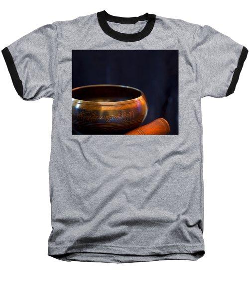 Tibetan Singing Bowl Baseball T-Shirt