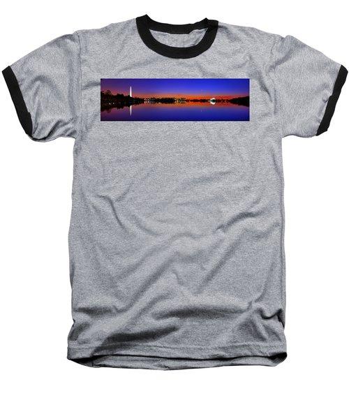 Tidal Basin Sunrise Baseball T-Shirt
