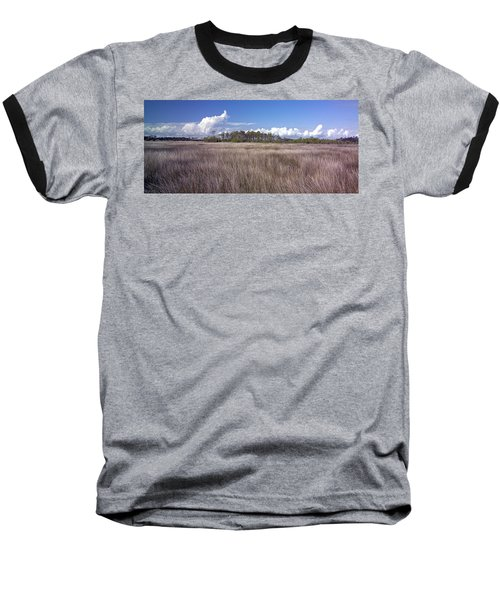 Baseball T-Shirt featuring the photograph Tidal Marsh On Roanoke Island by Greg Reed