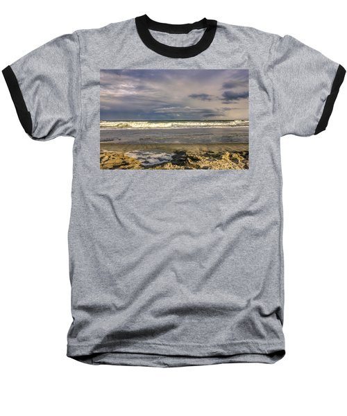 Tidal Pool Baseball T-Shirt by Rob Sellers