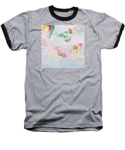Baseball T-Shirt featuring the painting Tidal Wash  C2012 by Paul Ashby