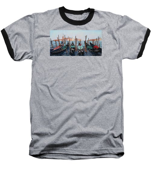 Tied Up In Venice Baseball T-Shirt