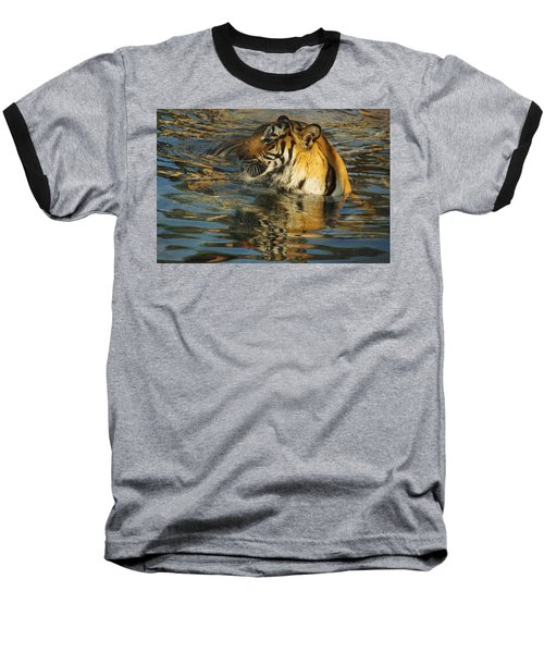 Tiger 3 Baseball T-Shirt
