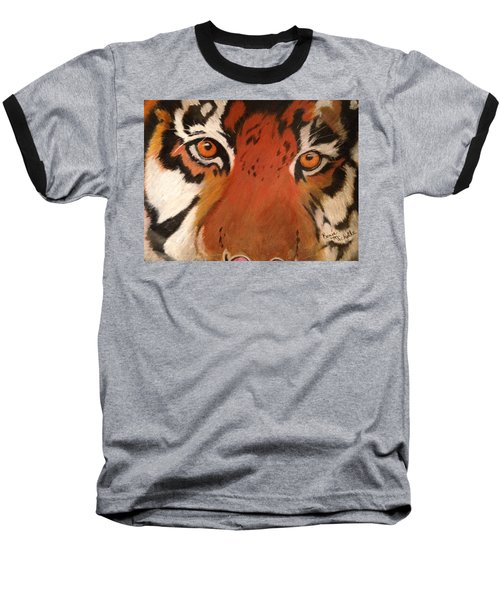 Tiger Eyes Baseball T-Shirt