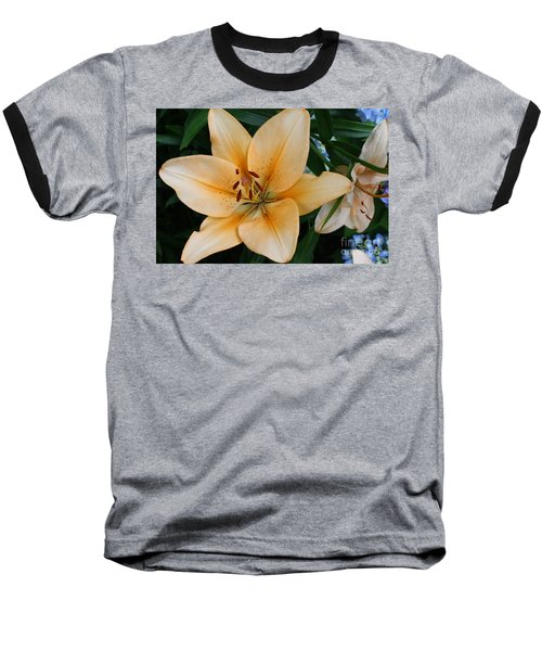Baseball T-Shirt featuring the photograph Tiger Lily by Dora Sofia Caputo Photographic Art and Design