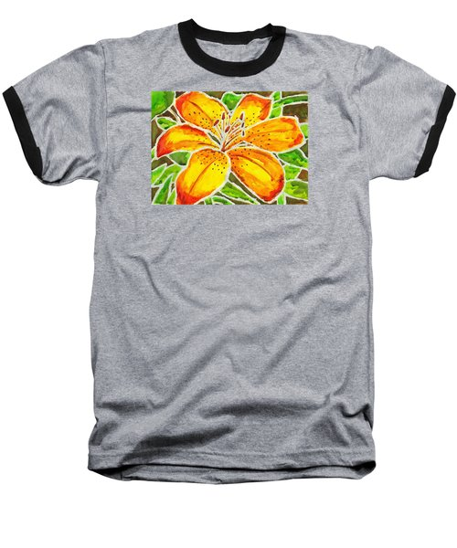 Tiger Lily  Baseball T-Shirt