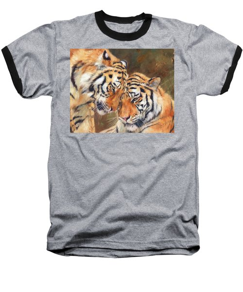 Tiger Love Baseball T-Shirt