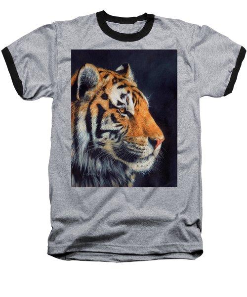 Tiger Profile Baseball T-Shirt