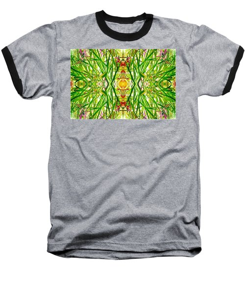 Tiki Idols In The Grass  Baseball T-Shirt
