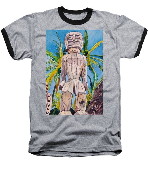 Tiki Baseball T-Shirt