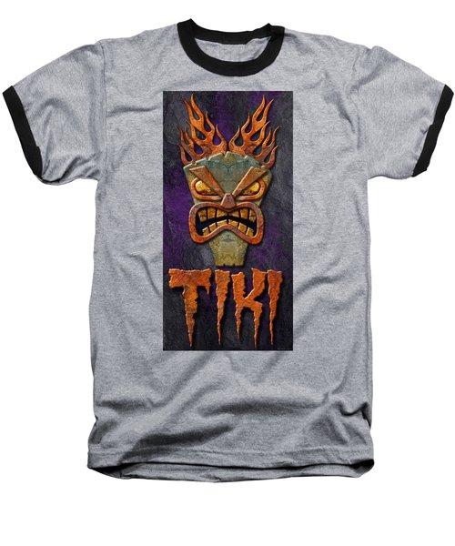 Baseball T-Shirt featuring the photograph Tiki by WB Johnston