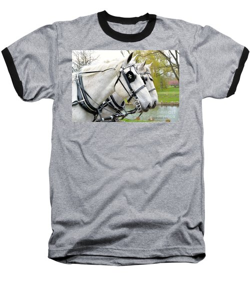 Baseball T-Shirt featuring the photograph Tillie And Bruce #2 by Jeannie Rhode