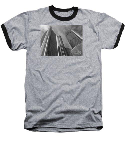Tilting Towers Baseball T-Shirt