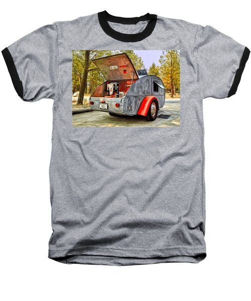 Time For Camping Baseball T-Shirt