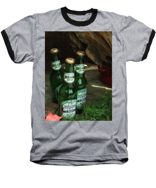 Baseball T-Shirt featuring the photograph Time In Bottles by Rachel Mirror