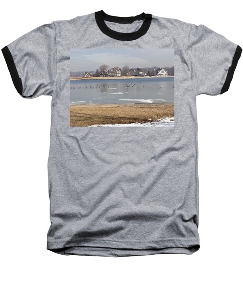 Time In New England Baseball T-Shirt