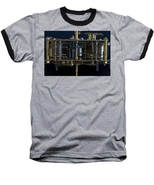 Time Machine Baseball T-Shirt