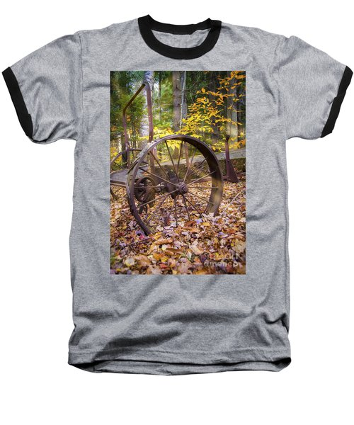 Time Gone By Baseball T-Shirt by Alana Ranney