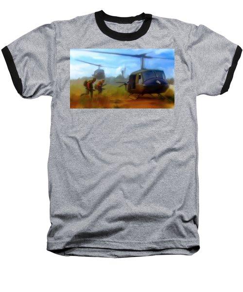 Time Sacrificed II Vietnam Veterans  Baseball T-Shirt