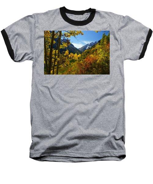 Time Stops Baseball T-Shirt