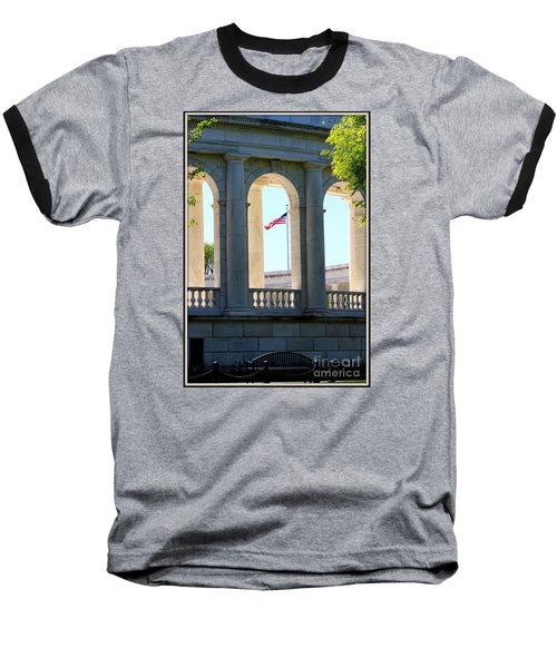 Baseball T-Shirt featuring the photograph Time To Reflect by Patti Whitten
