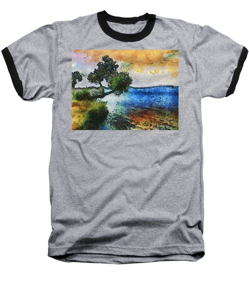 Time Well Spent - Medina Lake Baseball T-Shirt by Wendy J St Christopher