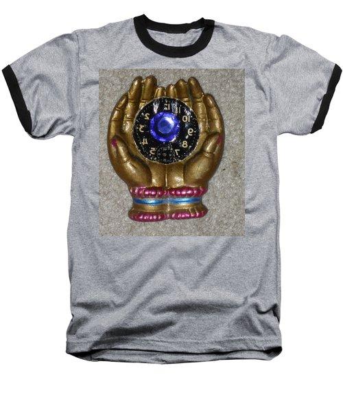 Timeless Hands Baseball T-Shirt by Douglas Fromm