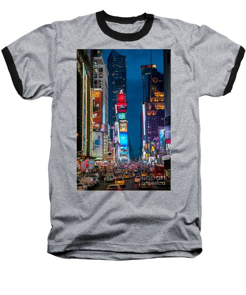 Times Square I Baseball T-Shirt