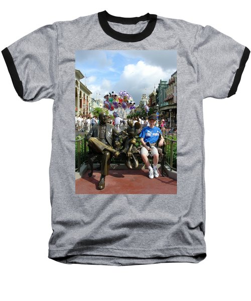 Baseball T-Shirt featuring the photograph Tingle Time by David Nicholls