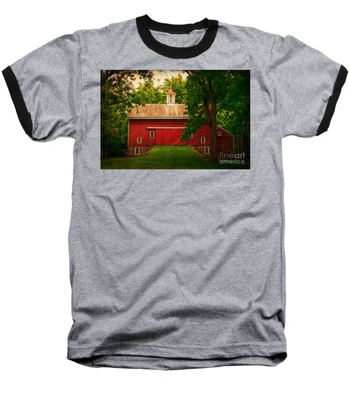 Tinicum Barn In Summer Baseball T-Shirt