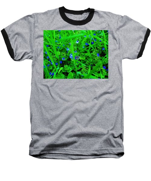 Baseball T-Shirt featuring the photograph Tiny Butterfly by Sherman Perry