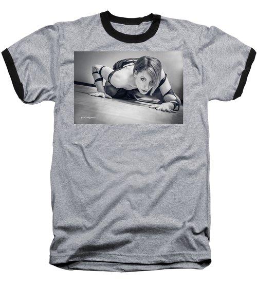 Baseball T-Shirt featuring the photograph Tiphanie Model by Stwayne Keubrick
