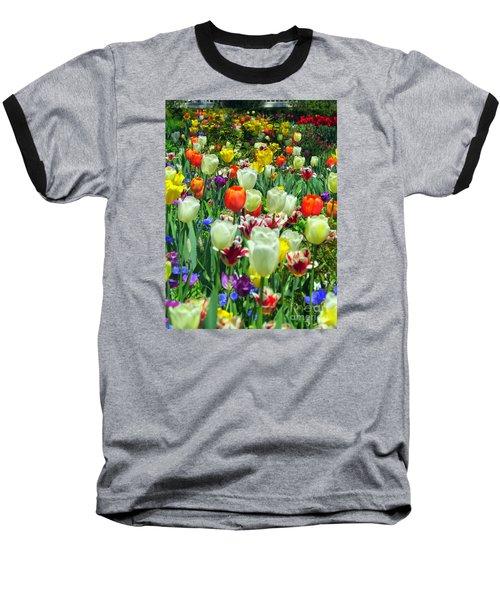Tiptoe Through The Tulips Baseball T-Shirt