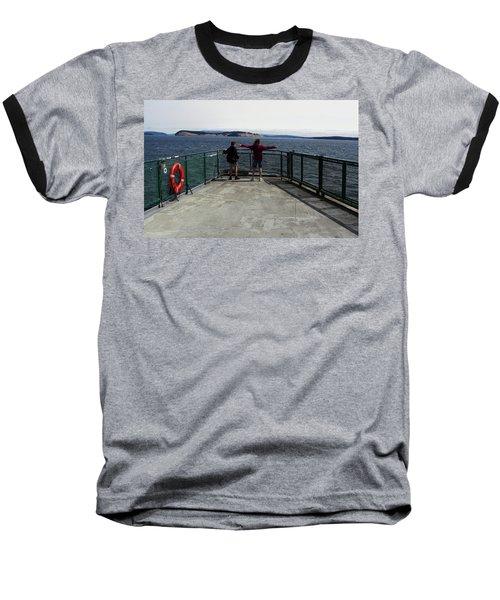 Titanic Influence Baseball T-Shirt by Natalie Ortiz