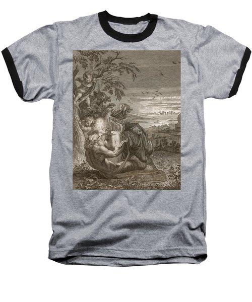 Tithonus, Auroras Husband, Turned Into A Grasshopper Baseball T-Shirt