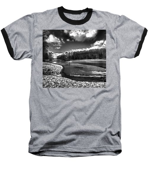 Baseball T-Shirt featuring the photograph To Grand Mother's House by Robert McCubbin