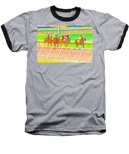 To The Finish Line Baseball T-Shirt